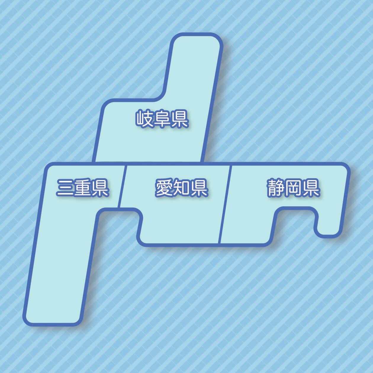 map-tokai