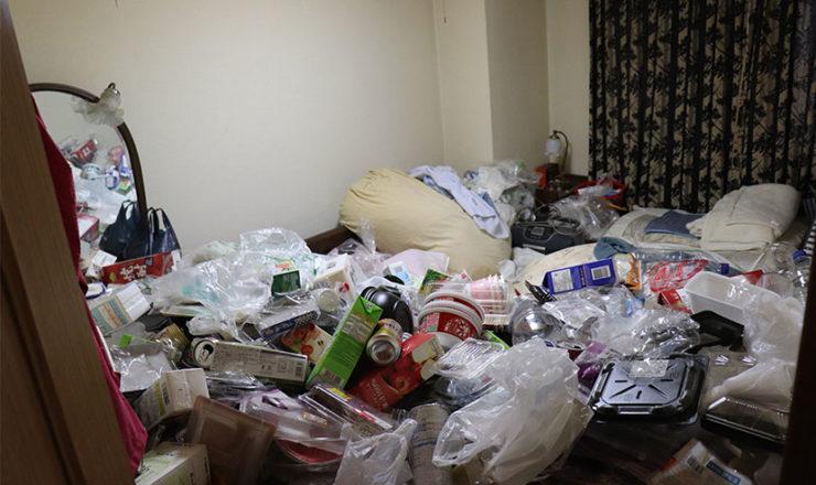 一軒家での孤独死の特殊清掃について